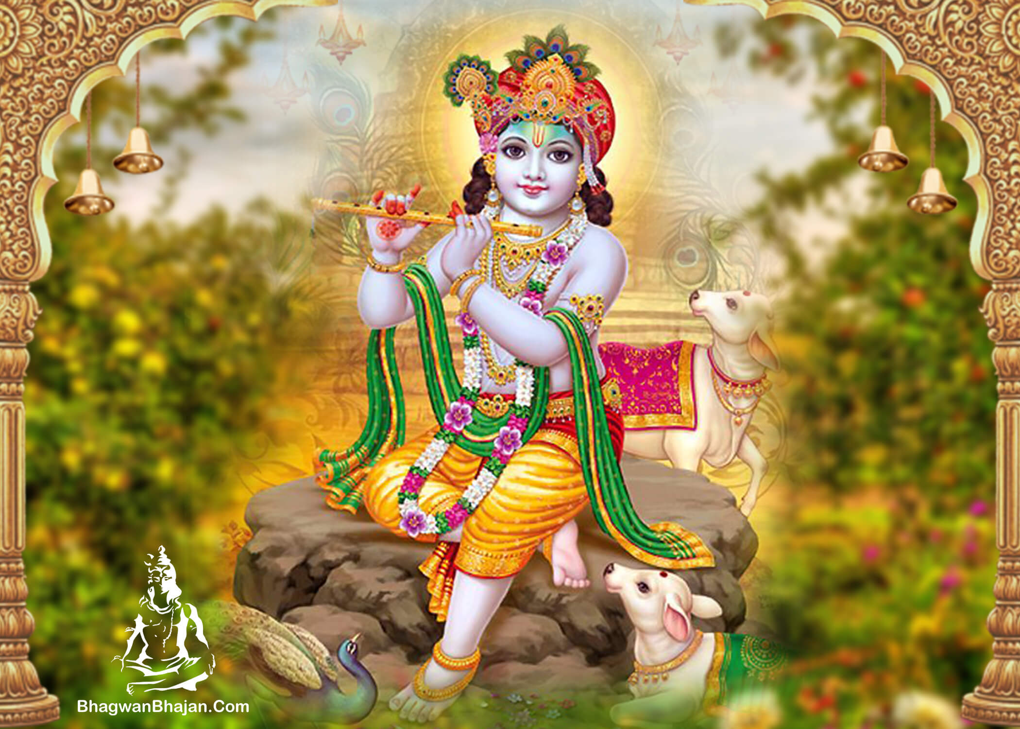 bal gopal shree krishna hd wallapaper