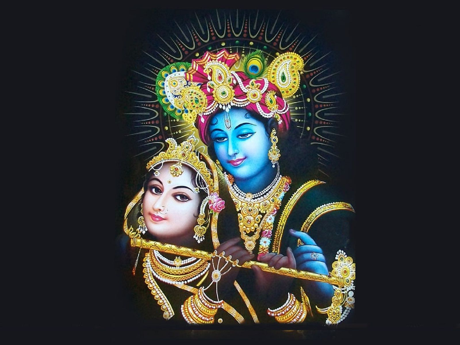 bhagwan shri krishna hd wallpaper