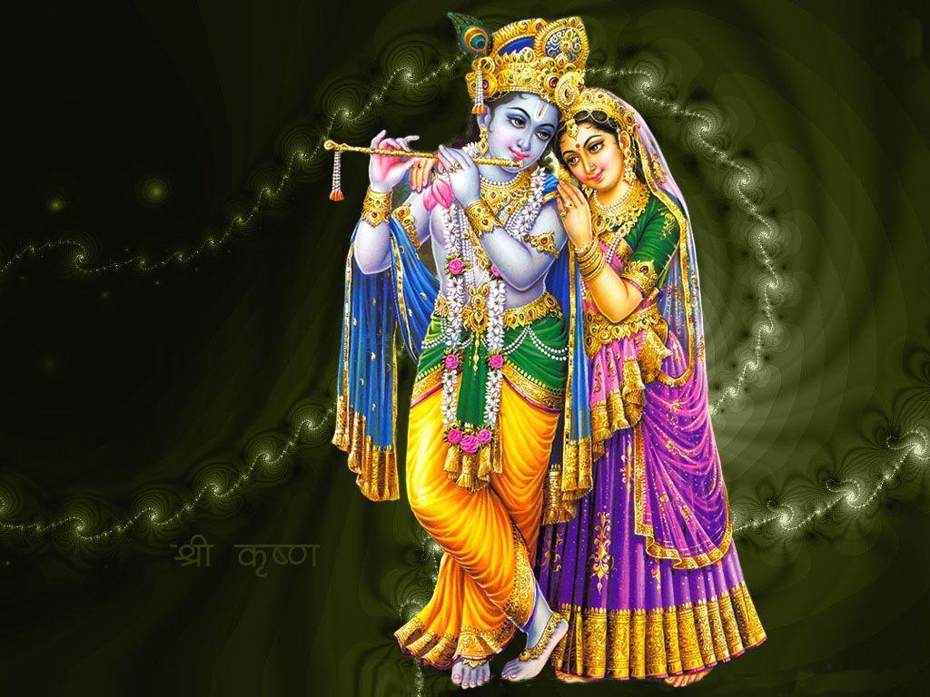 bhagwan shri krishna with bansuri image