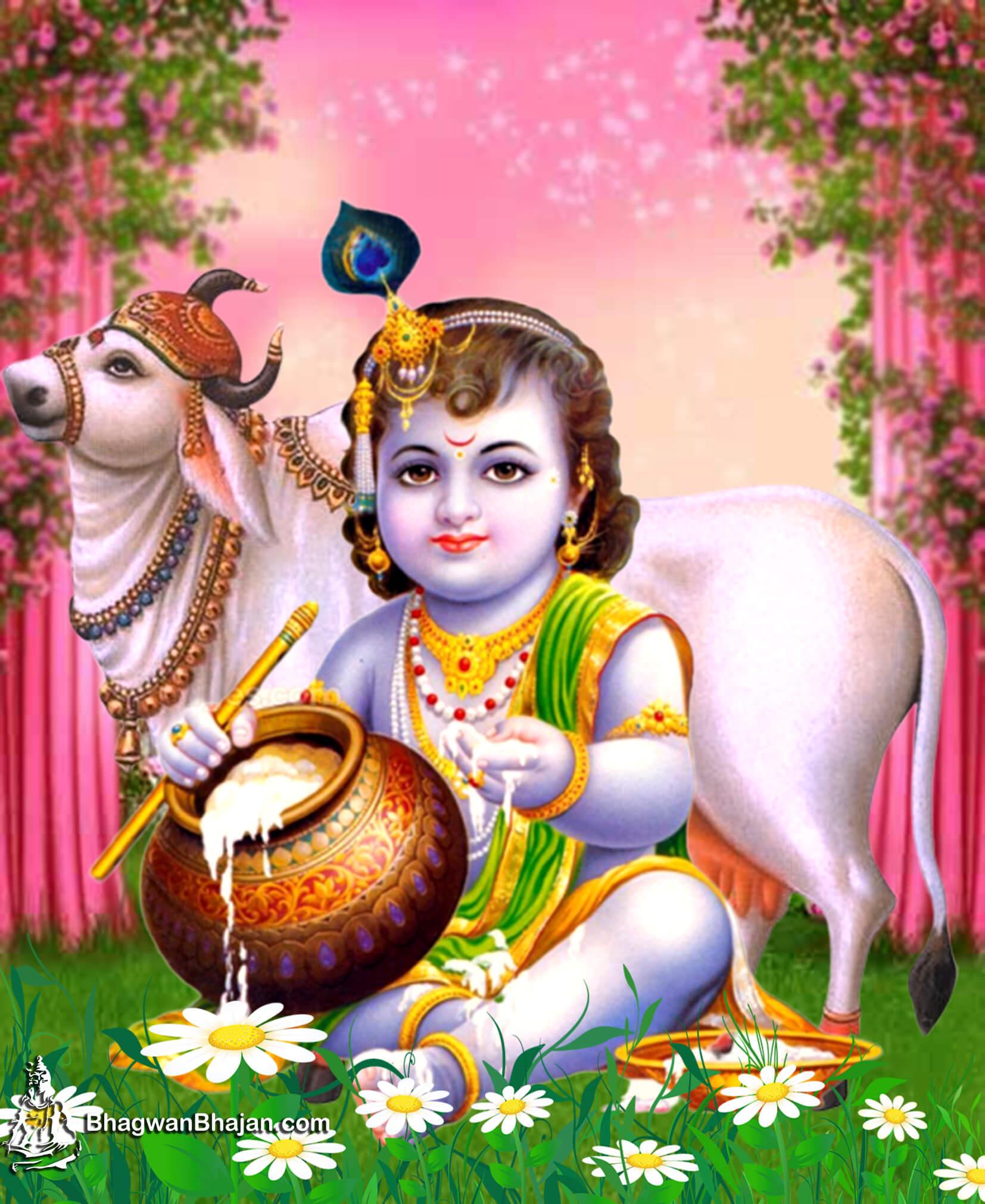 Bhagwan Shri Krishna Bal Roop HD Image