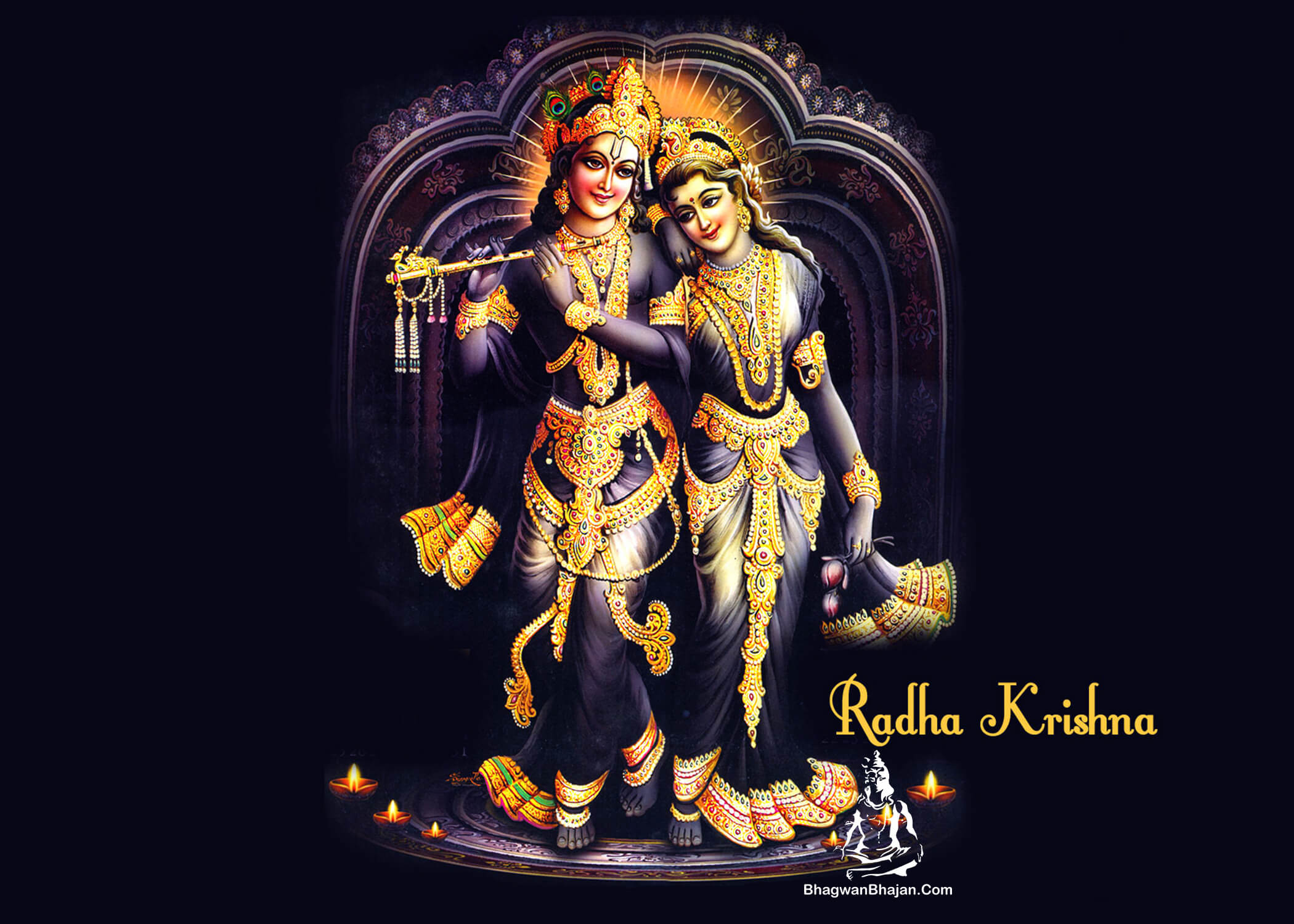 radha krishna hd best wallpaper