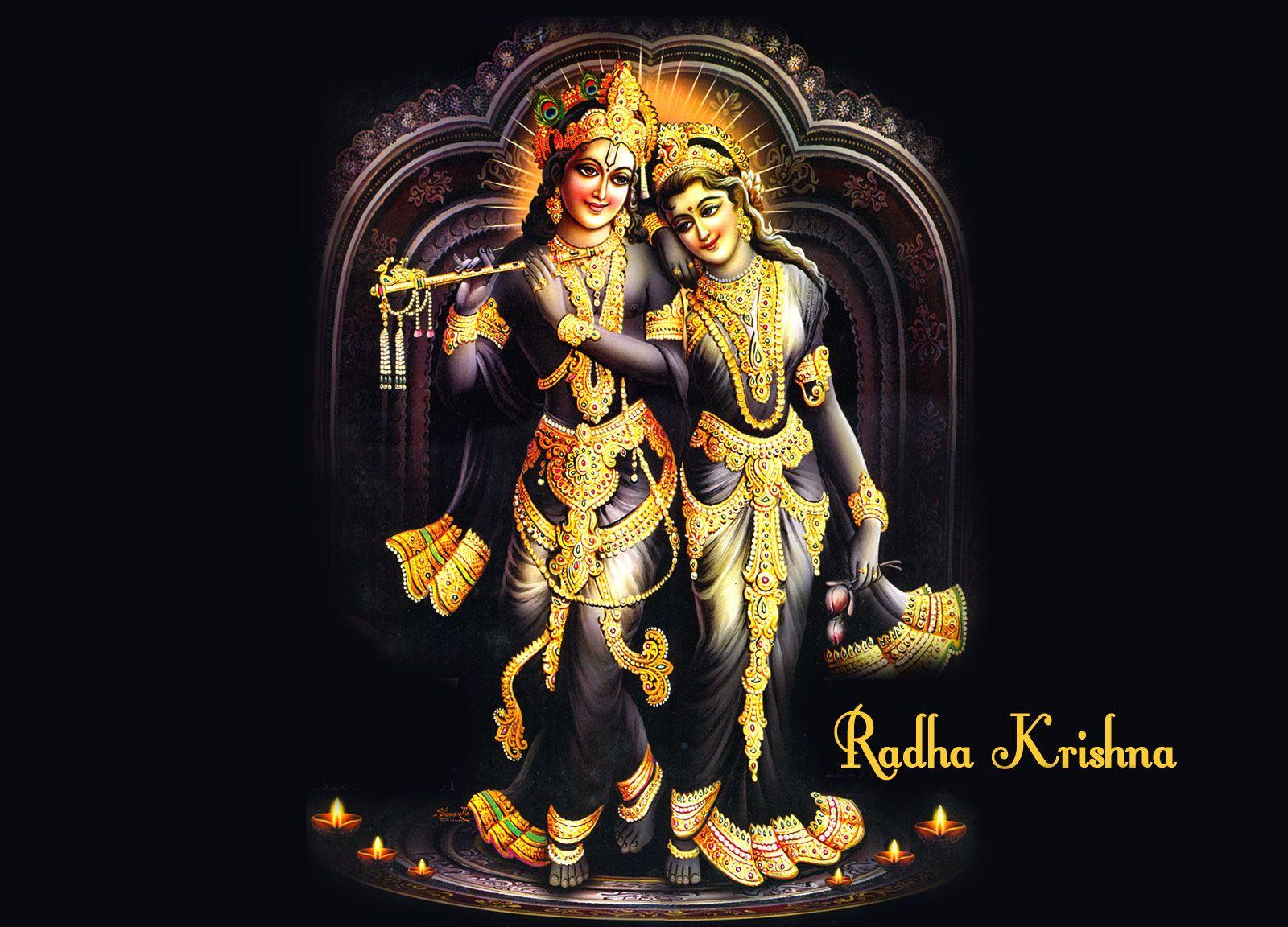 bhagwan shri krishna radha hd wallpaper