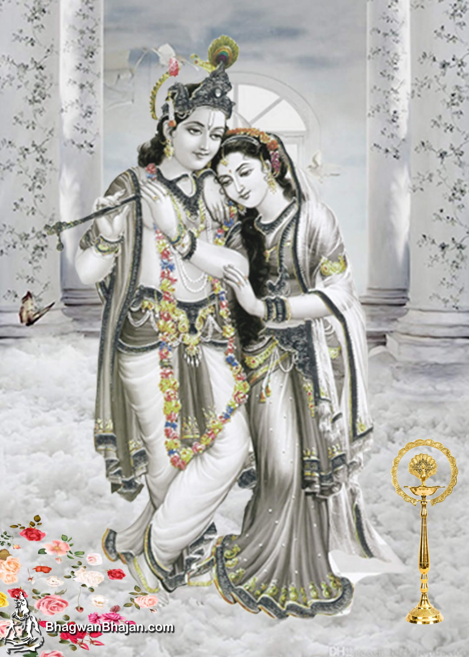 Radhe Krishna Latest New HD Wallpaper 2020