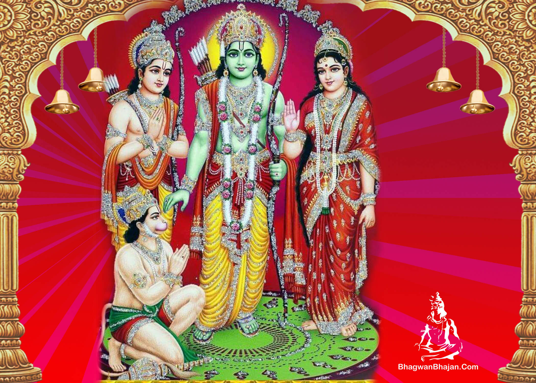 bhagwan ram hanuman sita mata photo wallpaper