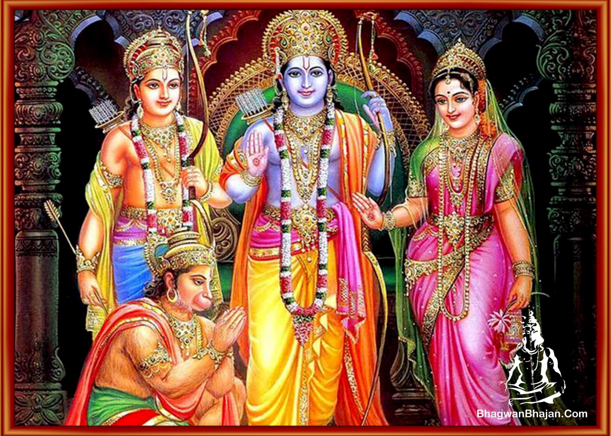 bhagwan ram laxman sita hanuman wallpaper