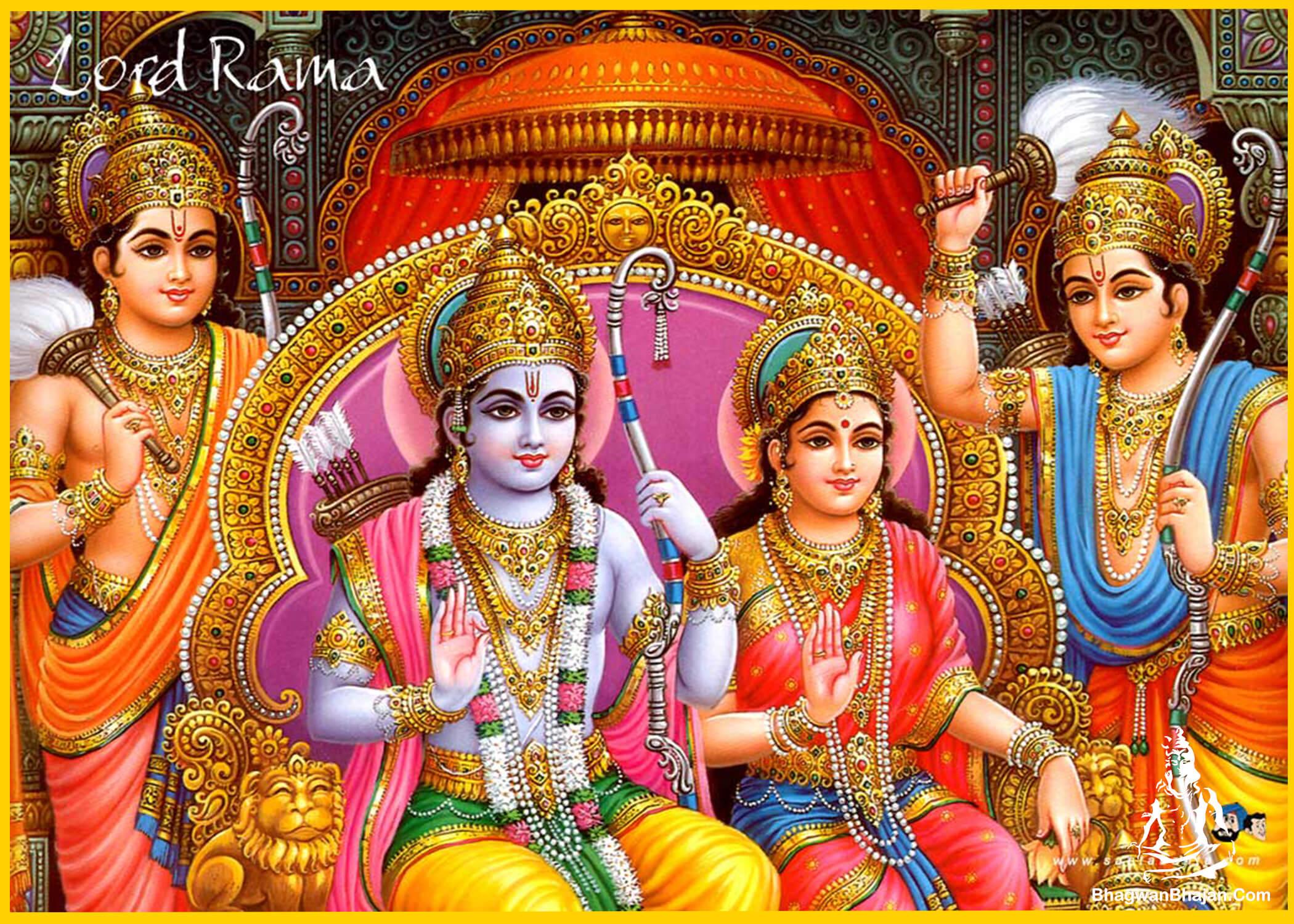bhagwan ram mata sita ayodhya darbar wallpaper