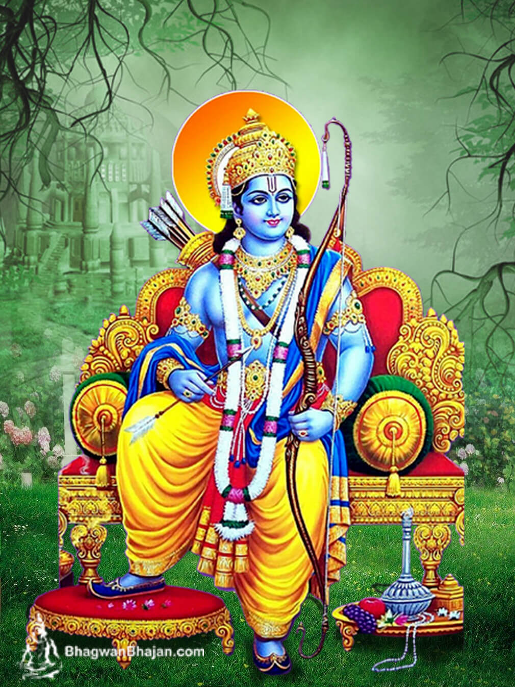 Bhagwan Shri Ram HD Wallpaper 2020