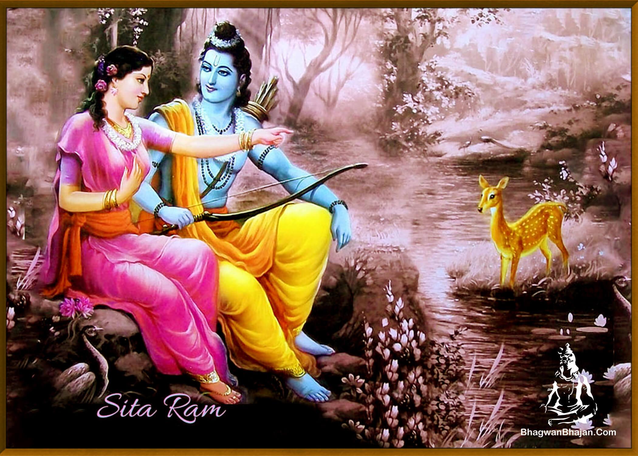 bhagwna ram sita vanvas wallpaper