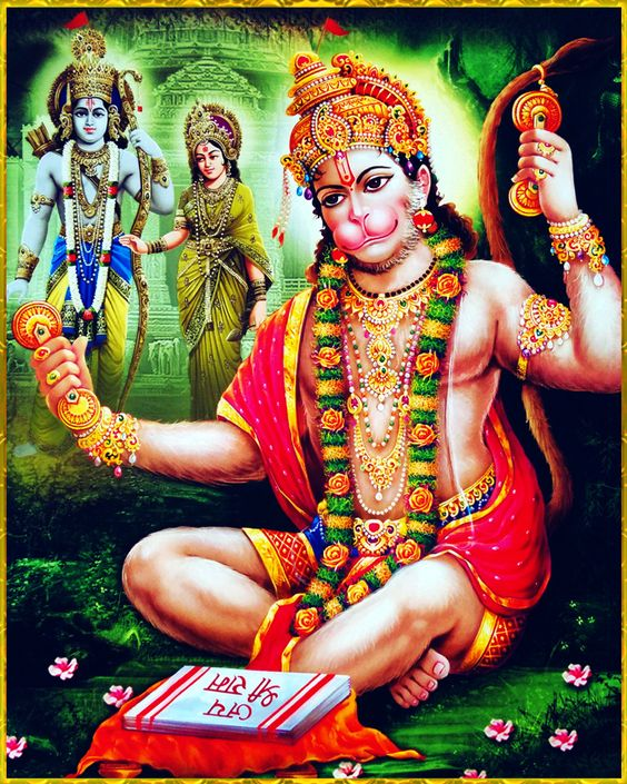 sri ram ji and hanuman ji together