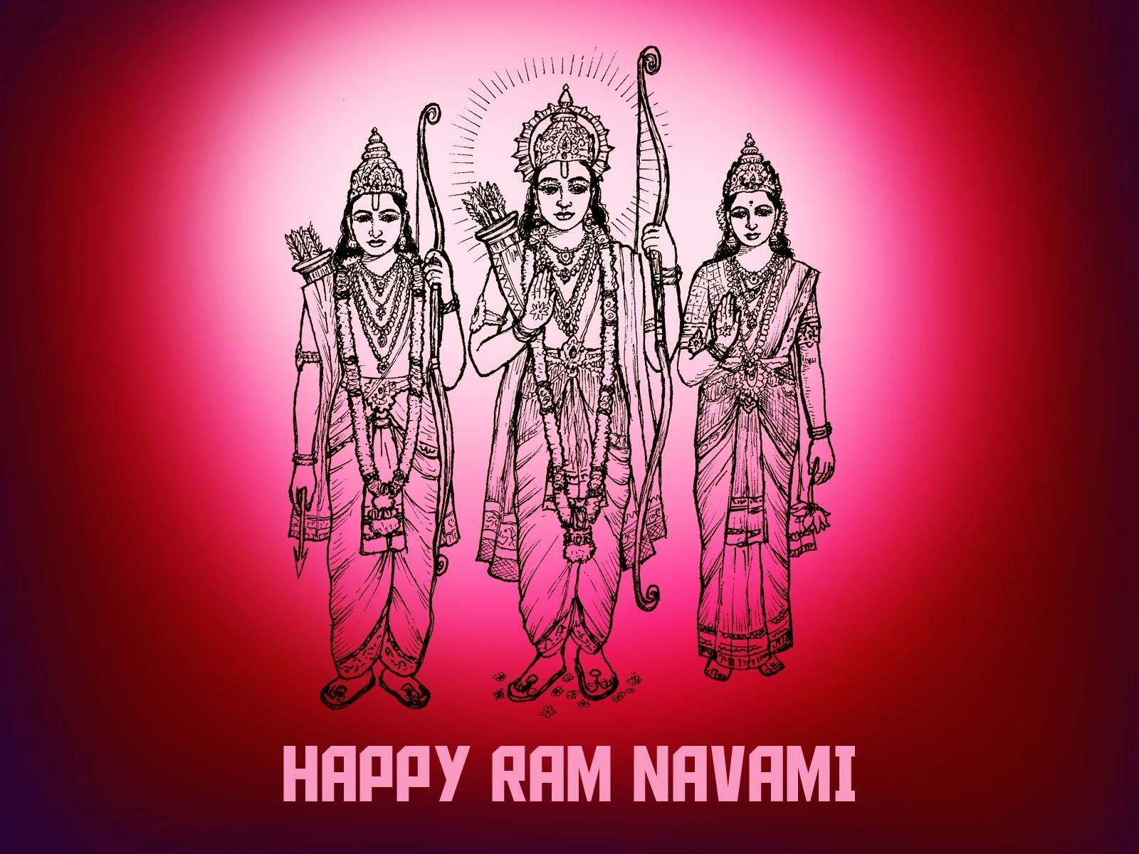 ram ji with laxman and sita mata wallpaper