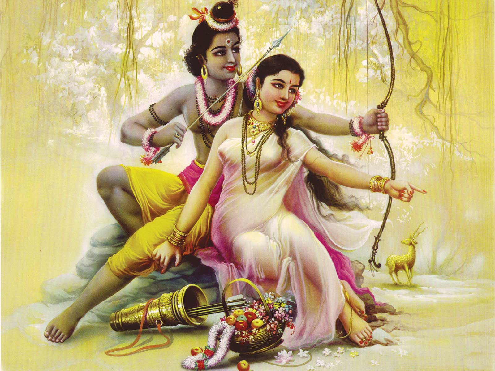 sri ram ji sita ji wallpaper