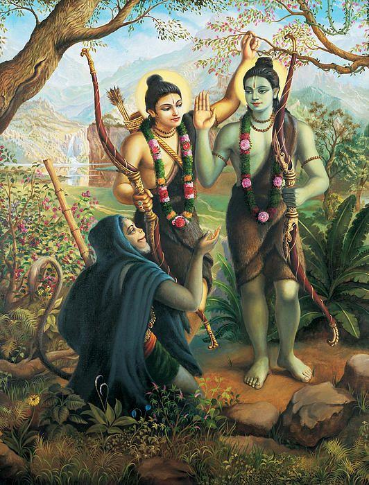 bhagwan shri ram sabri ke ber wallpaper