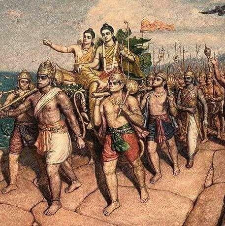 Shri Ram Vanar Sena Wallpaper