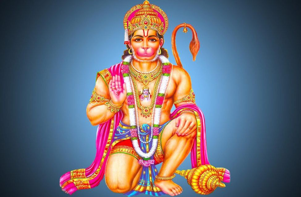 Shee Hanuman Wallpaper