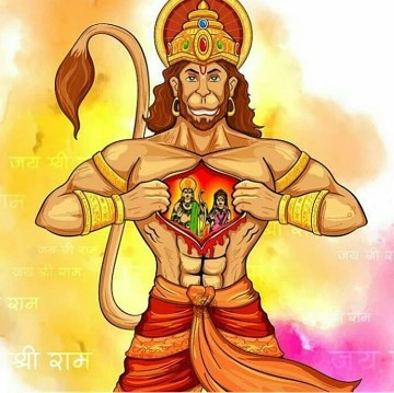Bhagwan Shri Hanuman facebook Photo 8