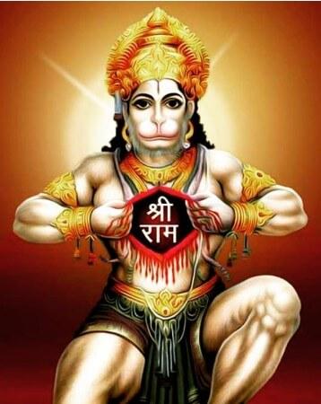 Bhagwan Shri Hanuman Instagram Photo 10