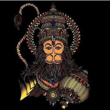 Bhagwan Shri Hanuman Instagram Photo 2