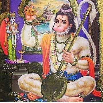 Bhagwan Shri Hanuman Instagram Photo 4