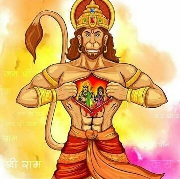 Bhagwan Shri Hanuman Instagram Photo 8