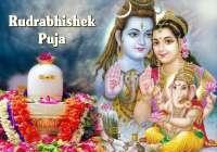 Rudra Abhishek: A holy bath for Lord Shiva