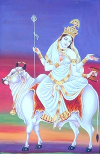 Worship Maa Shailputri first manifestation of Maa Durga on the first day of Navaratri